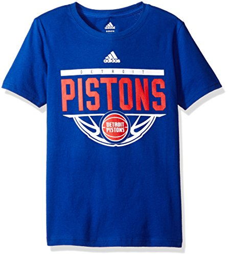 NBA Youth 8-20 Detroit Pistons Balled Out Short Sleeve (Adidas Detroit Pistons T-shirt)