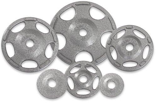 Hampton Olympic Grip Cast Iron Plates - 2.5 lb. pair (Paints Hampton)