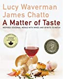 img - for A Matter Of Taste book / textbook / text book