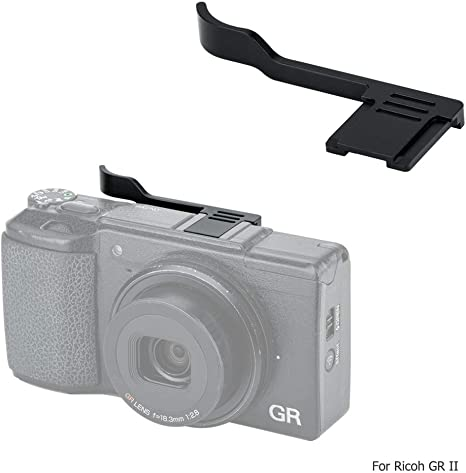 Metal Thumbs Up Grip Hot Shoe Cover for Ricoh GR III GRIII GR3 Better Balance and Grip for Camera Durable Hot Shoe Cap Protector