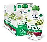Plum Organics Baby Grow Well Food, Lentils/Plums and Cinnamon Apple Puree, 3.5 Ounce (Pack of 12)