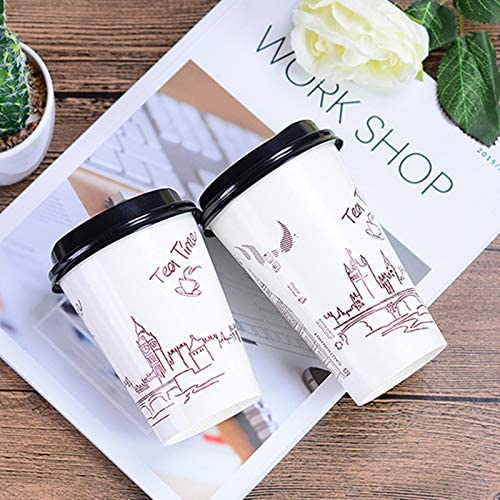 50pcs High quality creative funny disposable milk tea cup