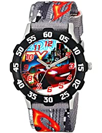 Kids' W001591 Tween Cars Lightning McQueen Stainless Steel Watch, Printed Nylon Band