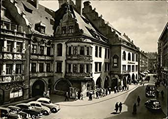 hofbrauhaus am platzl munich germany original vintage postcard at amazon 39 s entertainment. Black Bedroom Furniture Sets. Home Design Ideas