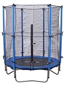 Super Jumper Combo Trampoline, Blue, Small/4.5-Feet