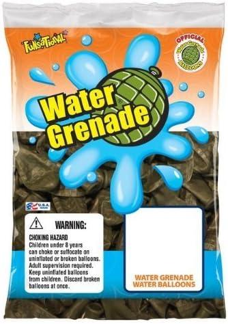 36 Contador de 4 Water Grenade los globos de agua - verde ...