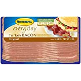 Butterball Original Everyday Turkey Bacon, 12 Ounce -- 24 per case.