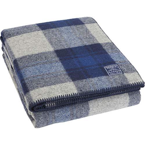 Faribault Foot Soldier Military Wool Blanket/Throw | Defender Plaid