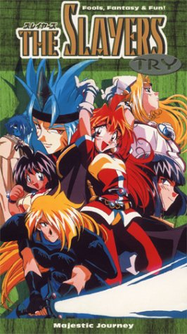 The Slayers Try - Majestic Journey (1997) - Dubbed in English [VHS]