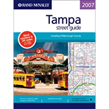 Amazon rand mcnally tampa florida books rand mcnally 2007 tampa street guide including hillsborough county rand mcnally tampahillsborough county street guide sciox Choice Image