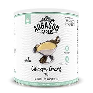 Augason Farms Chicken Gravy Mix 2 lbs 9 oz No. 10 Can
