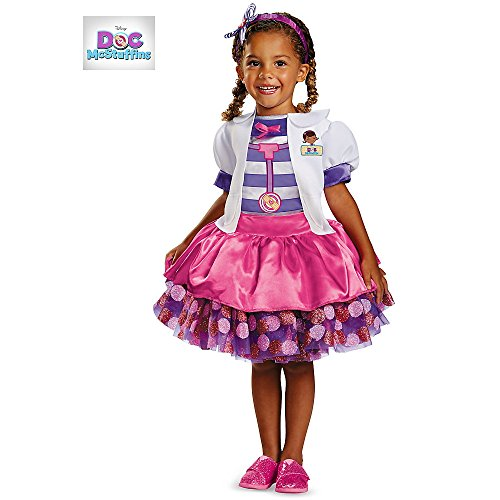 Disney Store Deluxe Cinderella Costume For Baby Toddler 2t: Doc Mcstuffins Tutu Deluxe Toddler Costume (Disguise