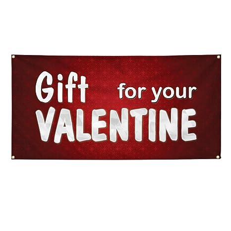 925e8ad5641 Amazon.com   Vinyl Banner Sign Gift for Sale Valentine Business ...