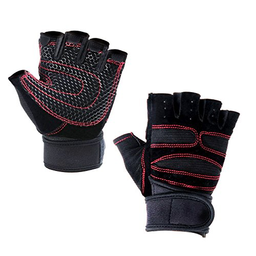 Unisex Outdoor Sports Half Finger Running Bicycle Shockproof Protection Gloves for Bike Motorcycle GYM Workout Exercise - Unisex Ultra Riding Gloves