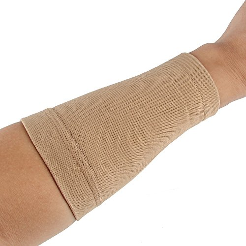 Beauty7 Tan Tattoo Cover Up Sleeve Forearm Band Concealer UV Protection Medium Size (1PC)