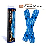 Genesis K-Motion Tape with Copper Infuzion- Blue Pre-Cut Pack