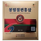 Pocheon 300g(10.6oz) 6Years Sliced Korean Panax Red Ginseng Roots with Honey Saponin