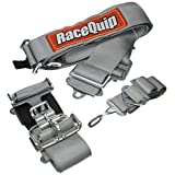 RaceQuip 711061 Platinum Latch and Link 5 Point Auto Racing Harness Set (SFI 16.1 Seat Belt Set)
