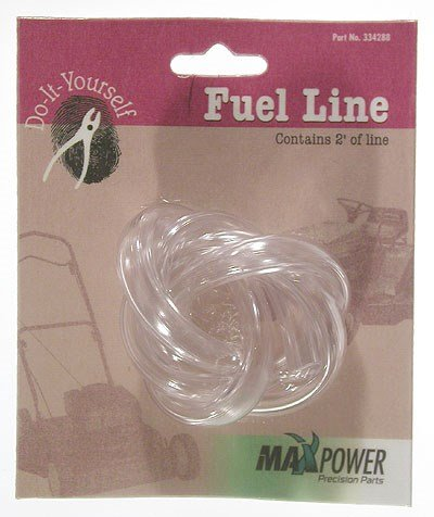 Maxpower 334288 1/4 Inch Clear Fuel Line, 2 Foot ()