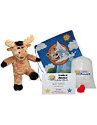 Make Your Own Stuffed Animal Mumphry the Moose - No Sew - Kit With Cute Backpack!