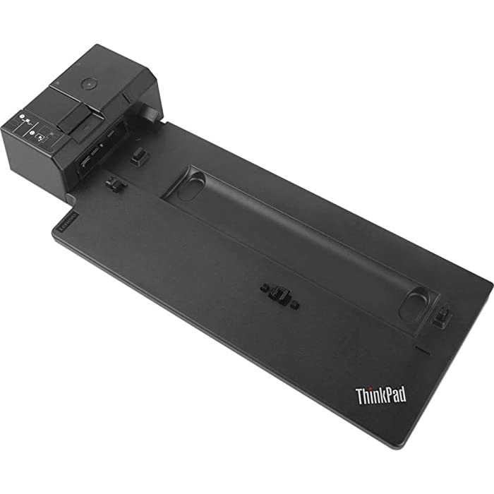 Lenovo USA ThinkPad Ultra Docking Station (P/N; 40AJ0135US ) For P52s, L580, L480, T580, P580p, T480s, T480, X1 Carbon Gen 6, X280