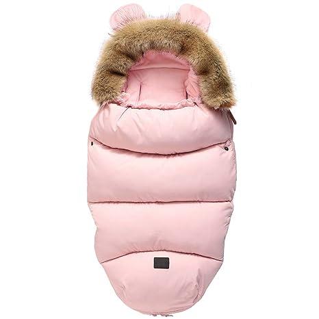 Saco de dormir para bebé de 0 a 12 meses rosa rosa Talla:talla única