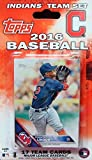 Cleveland Indians 2016 Topps Factory Sealed Special Edition 17 Card Team Set with Corey Kluber and Carlos Santana Plus