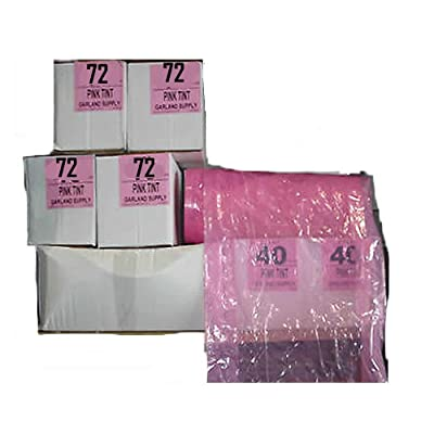 """ Pink "" Dry Cleaning Poly Garment Bags Choose 40"" or 72"" (72"" x 21"" x 7"")"