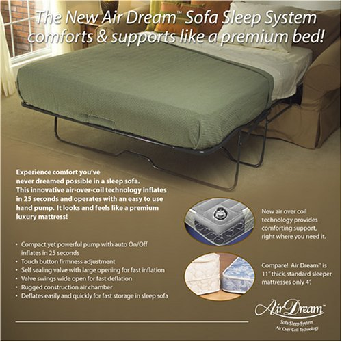 Amazon Queen Air Dream Sleeper Sofa Replacement Mattress