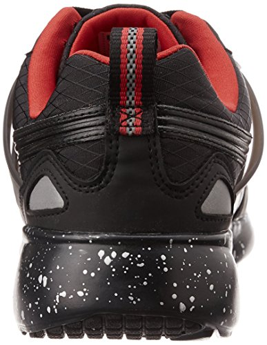 Noir Sneakers Puma Red Adulte high Modern black Mixte Basses Risk Aril Tech Oqqf0wATt