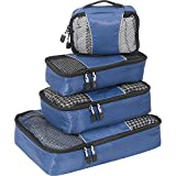 eBags Packing Cubes - 4pc Small/Med Set (Denim)