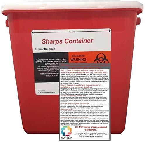 Sharps Container 2 Gallon