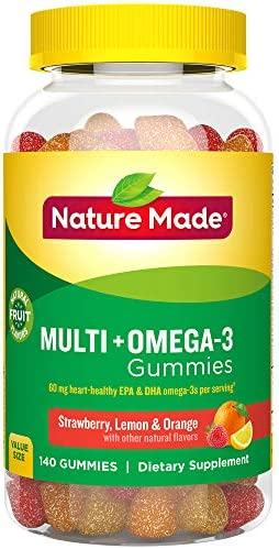 Nature Made Omega 3 Gummies serving product image