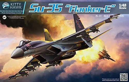KH80142 1:48 Kitty Hawk SU-35 Flanker-E (MODEL BUILDING ()