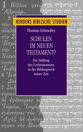 Schulen im Neuen Testament? von Christoph Stenschke