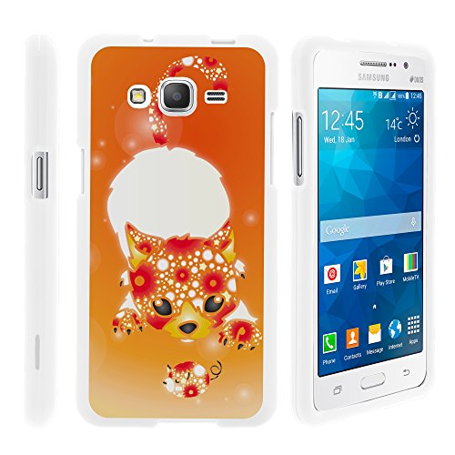 - MINITURTLE Case Compatible w/Samsung Galaxy Grand Prime Case, Slim Fit Snap On Cover w/Unique, Customized Design for Samsung Galaxy Grand Prime SMG530H, SMG530F Playful Puppy