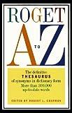 Roget A to Z, Robert L. Chapman, 0062720597