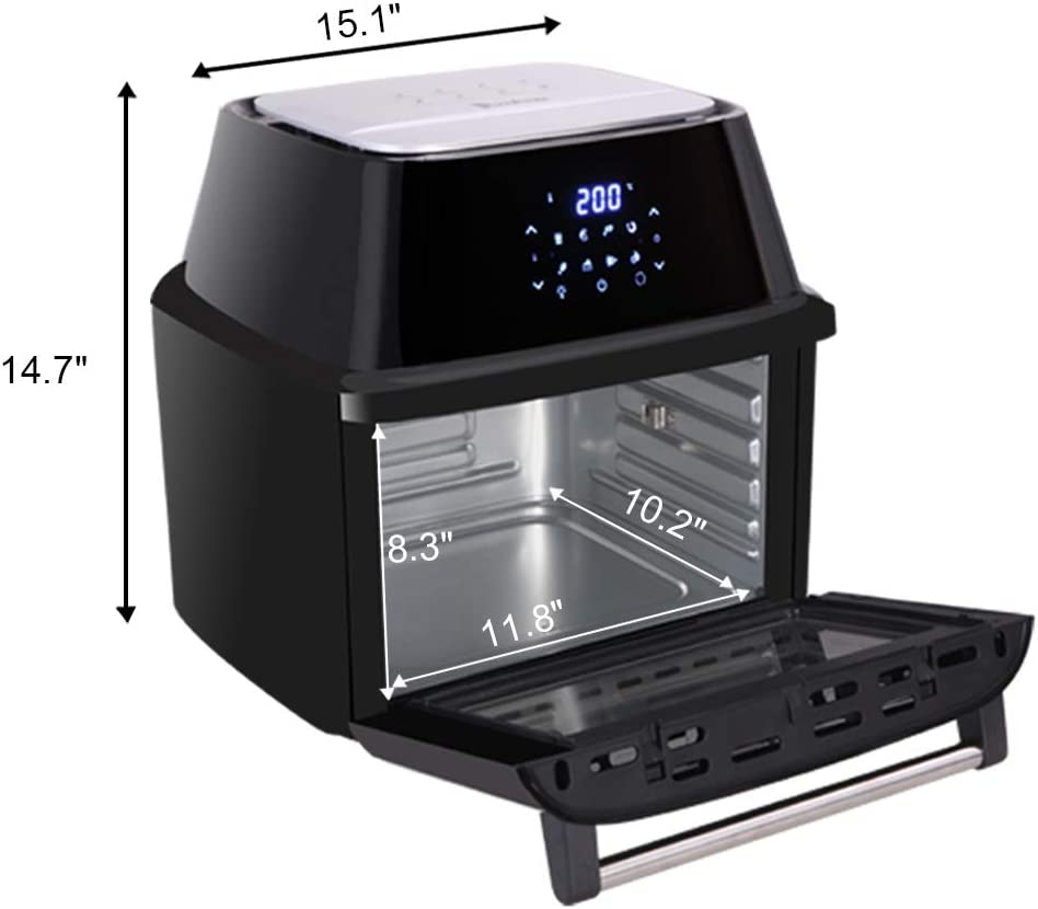4. Z ZTDM ZOKOP 17 QT Electric All-in-One Air Fryer Oven