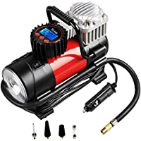 Tcisa Portable Air Compressor Pump 150 PSI, 12V 140W Auto...