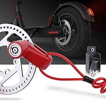 Anti-theft Wheel Brake Disc Lock Security Motorcycle Bike Scooter Bicycle E-Bike