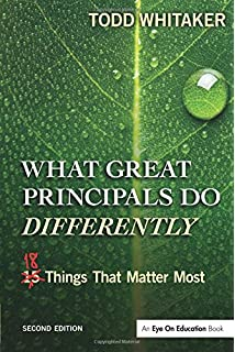 ACEL Todd Whitaker Set: What Great Principals Do Differently (Volume 2)