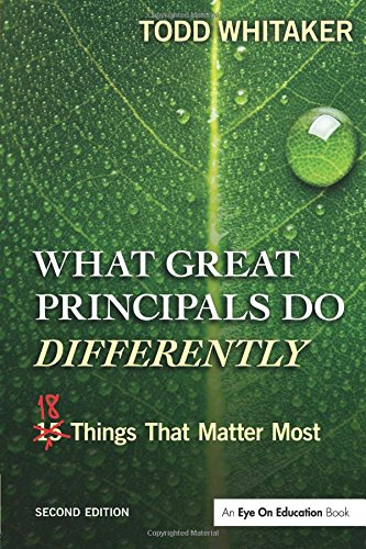 Pdf Teaching What Great Principals Do Differently