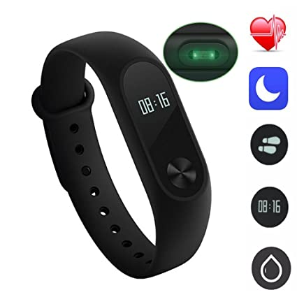 Amazon.com: Original Xiaomi Mi Band 2 Smart Wristband Bracelet OLED ...