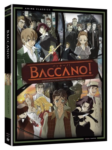Baccano: The Complete Series (Viridian Collection) by Funimation
