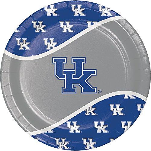 (Creative Converting 424768 Kentucky Wildcats Dinner Paper Plates,)