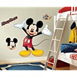 Roommates Rmk1508Gm Mickey Mouse Peel And Stick Giant...