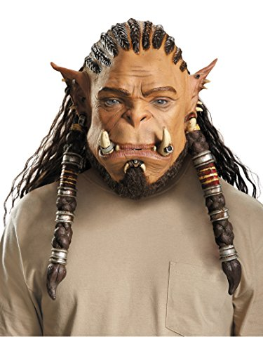 Orc Halloween Masks (Warcraft: Durotan Orc Warrior Deluxe)