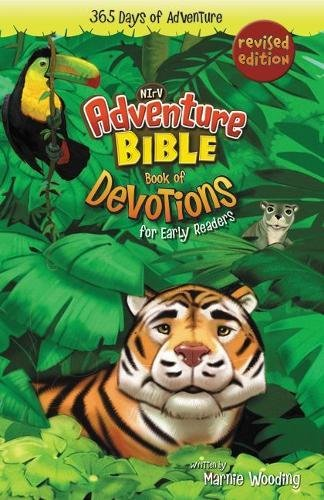 Adventure Bible Book of Devotions for Early Readers, NIrV: 365 Days of Adventure