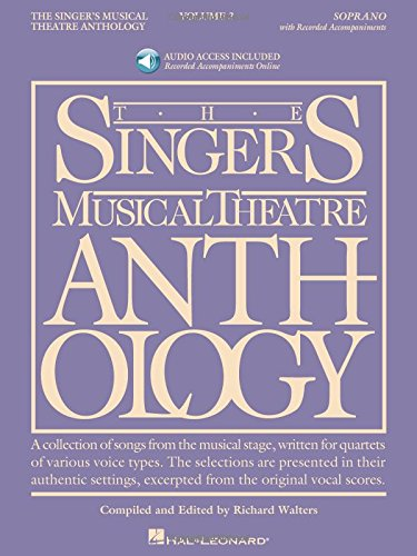The Singer's Musical Theatre Anthology, Vol. 3: Soprano (Book/Online Audio) (Songbook Vol 3)