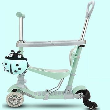George zhang El Patinete Scooter para niños se Puede Empujar ...
